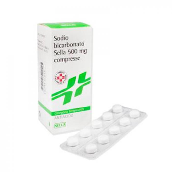 SODIO BICARB*50CPR 500MG - Farmafamily.it