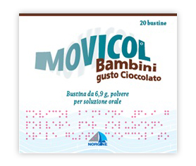 MOVICOL*CIOCCOL BB 20BUST 6,9G - Farmafamily.it