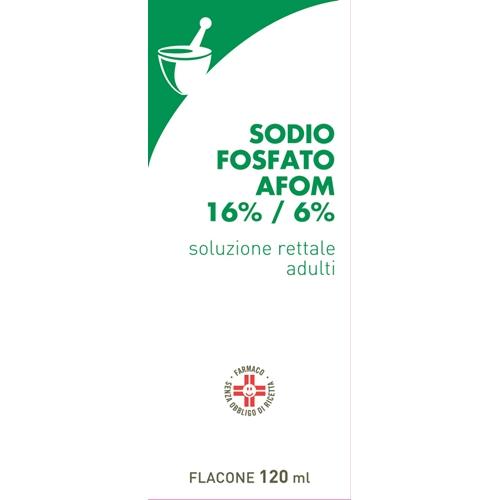 SODIO FOSFATO AFOM*120ML+CAN - farmaventura.it