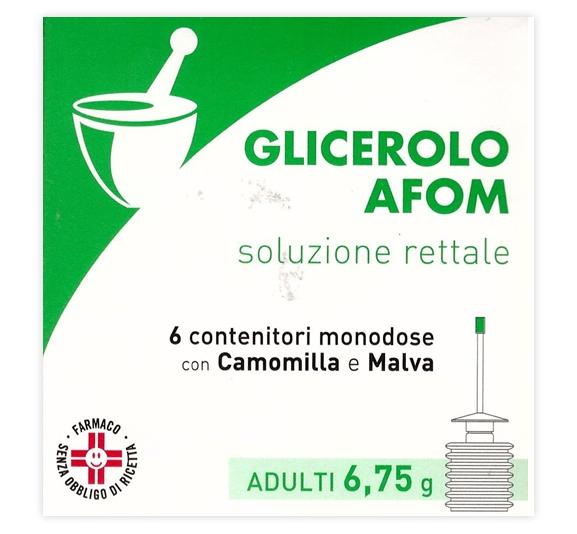 GLICEROLO AFOM*AD 6CONT 6,75G - SUBITOINFARMA