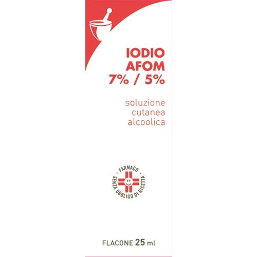 IODIO SOL ALCO I AFOM*25ML - Farmastop