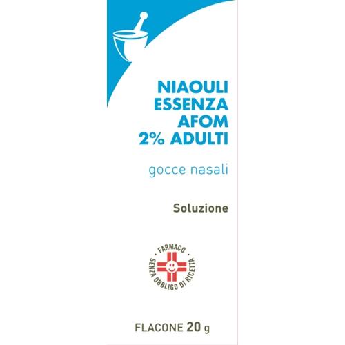 NIAOULI ESSENZA FA*2% GTT 20G - Farmastar.it