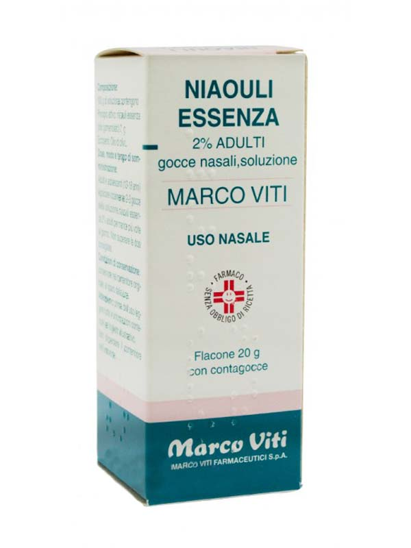 NIAOULI ESSENZA MV*2% GTT 20G - Nowfarma.it