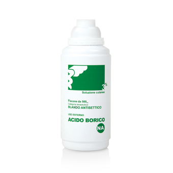 ACIDO BORICO*SOL CUT 3% 500ML - pharmaluna
