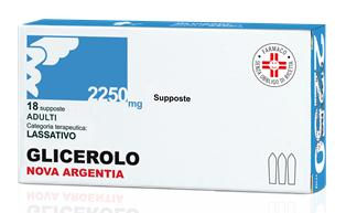 GLICEROLO*AD 18SUPP 2250MG - Farmacia 33