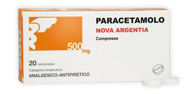 PARACETAMOLO NA*20CPR 500MG - Farmajoy