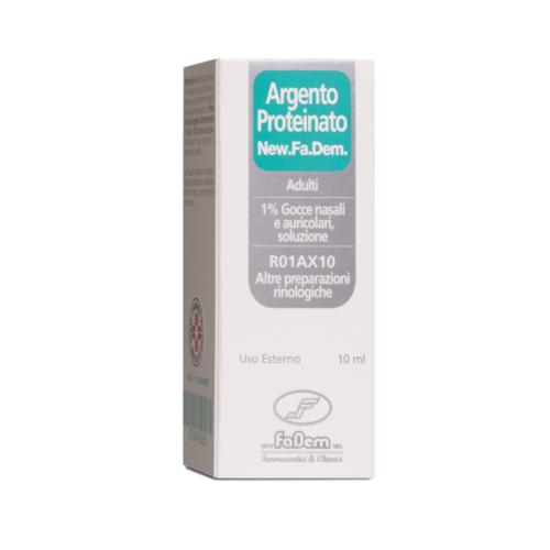 ARGENTO PROTEINATO*1% 10ML - Farmaci.me