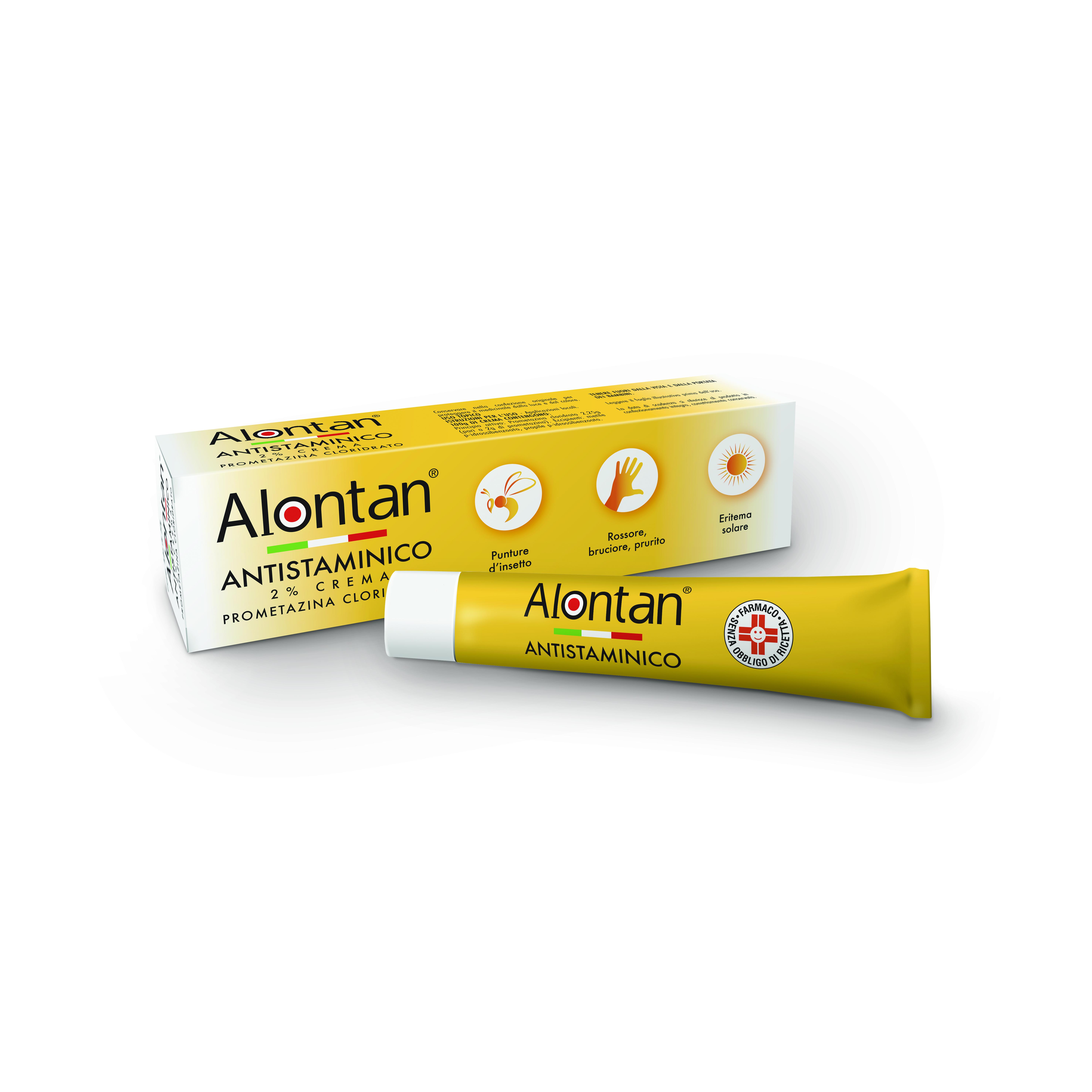 ALONTAN ANTISTAMIN*2% CR 30G - Farmajoy