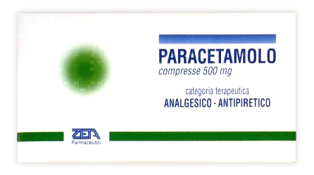PARACETAMOLO ZETA*20CPR 500MG - FARMACIABORRELLI.IT