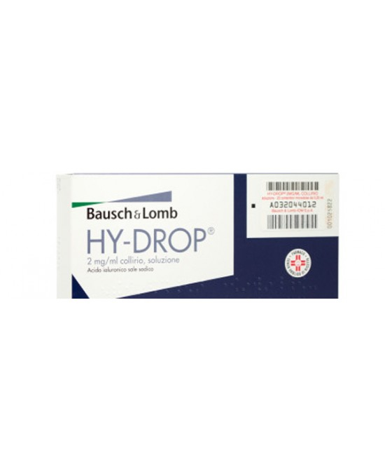 Bausch & Lomb Hydrop Collirio 20 Monodosi Da 0,25ml - DrStebe