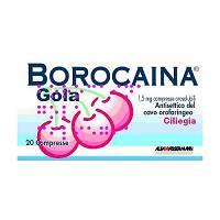 BOROCAINA GOLA*20PAST1,5MG CIL - Farmaciasvoshop.it