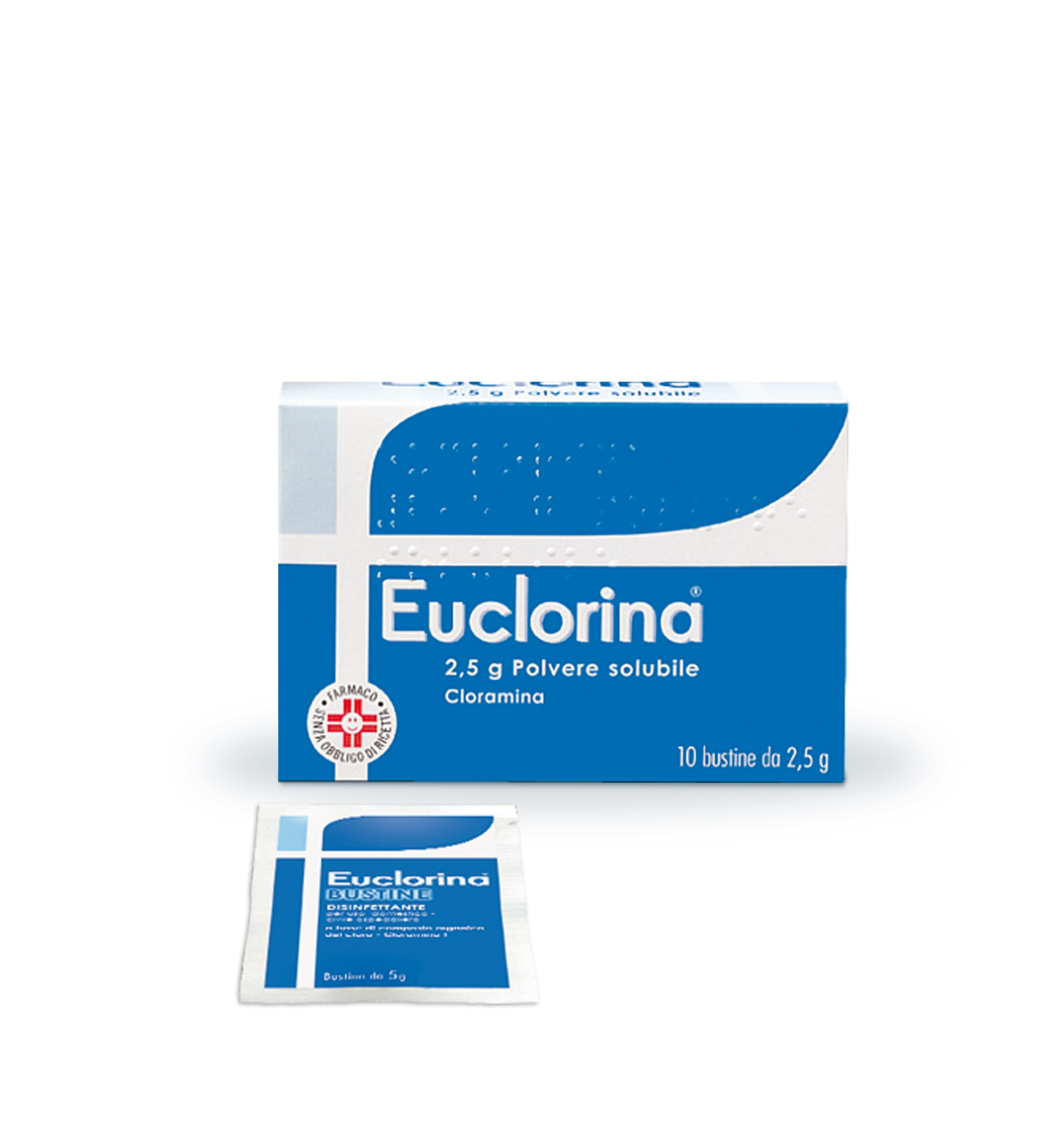 EUCLORINA*POLV SOL 10BUST 2,5G - Farmastar.it