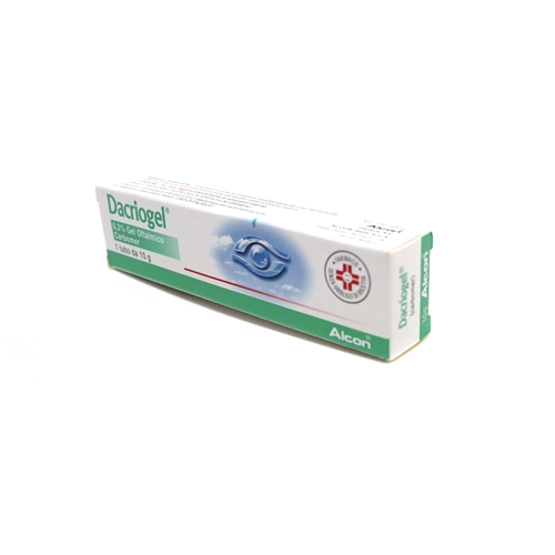 DACRIOGEL*GEL TUBO 10G 0,3% - Farmaunclick.it