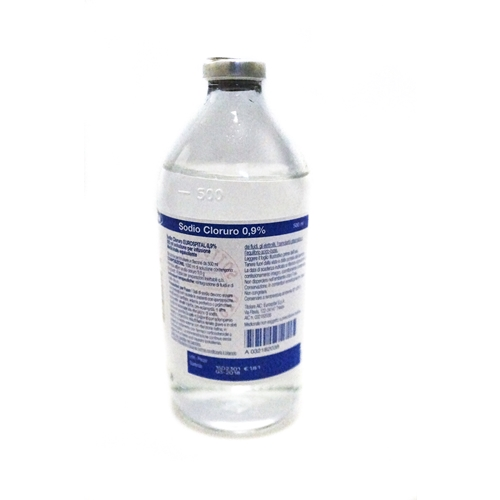 SODIO CLORURO EUROS*0,9% 500ML - Farmaunclick.it