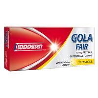 Iodosan Golafair 1,5mg Disinfezione Della Mucosa Orofaringea Gusto Miele Limone 20 Pastiglie - Farmapage.it