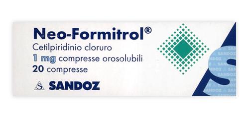 NEOFORMITROL*20CPR OROSOL 1MG - Farmacia 33