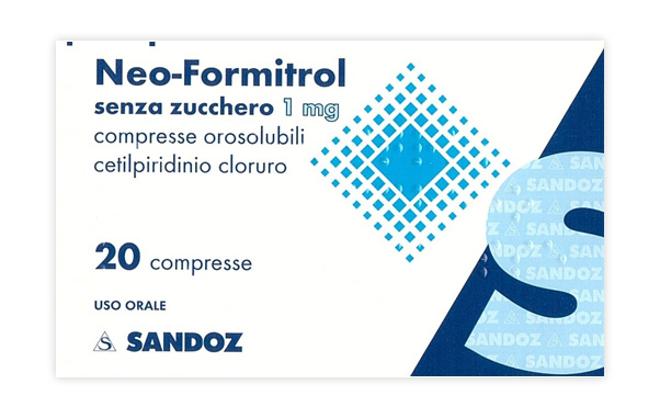 NEOFORMITROL*20CPR OROSOL S/Z - Farmafamily.it