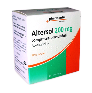 ALTERSOL*24CPR OROSOLUB 200MG - SUBITOINFARMA