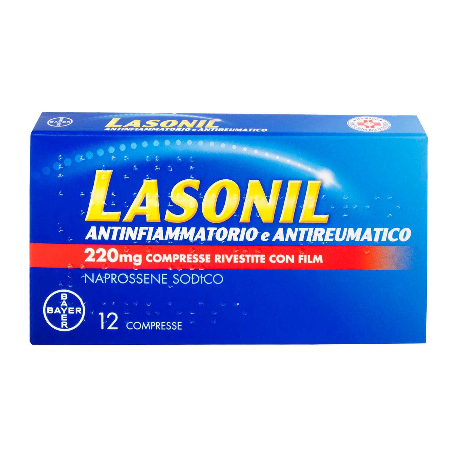 LASONIL ANTINFIAMMIATORIO*12CPR 220MG - FarmaHub.it