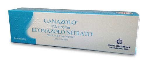 GANAZOLO*CREMA 30G 1% - Parafarmacia la Fattoria della Salute S.n.c. di Delfini Dott.ssa Giulia e Marra Dott.ssa Michela