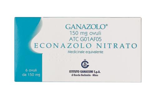 GANAZOLO*6 OV VAG 150MG - FARMAPRIME