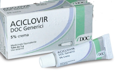ACICLOVIR DOC*CR 3G 5% - Spacefarma.it