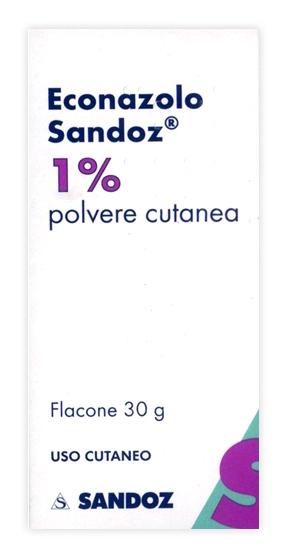 ECONAZOLO SAND*POLV CUT 30G 1% - Nowfarma.it