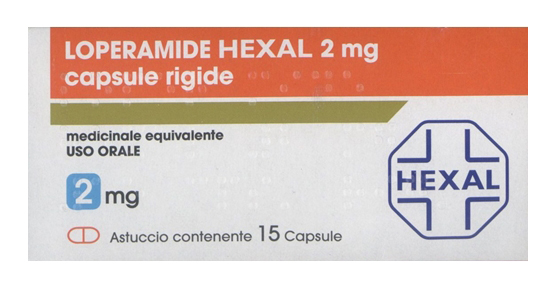 LOPERAMIDE HEXAL*15CPS 2MG - Spacefarma.it