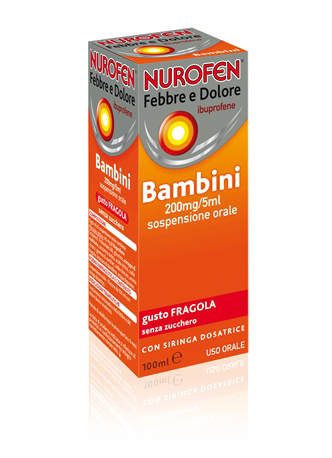 NUROFEN FEBBRE D*200MG/5ML FRA - Farmawing