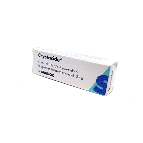 CRYSTACIDE*CREMA 25G 1% - Farmastar.it