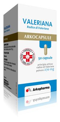 Arkocapsule Valeriana 270mg  50 Capsule - Farmacielo