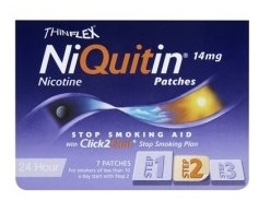 NIQUITIN*7CER TRANSD 14MG/24H - Zfarmacia