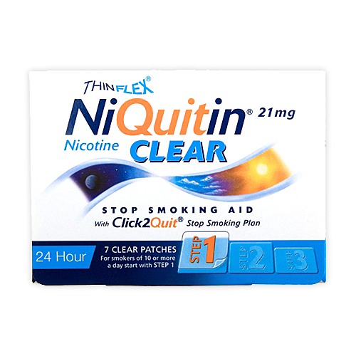 NIQUITIN*7CER TRANSD 21MG/24H - Farmawing