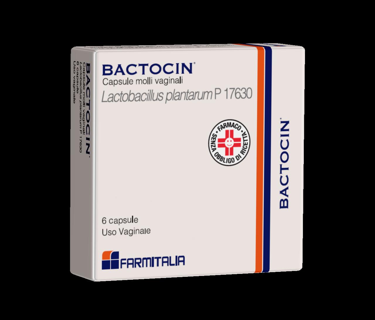 BACTOCIN*6CPS VAG MOLLI 3G - Farmacia Castel del Monte