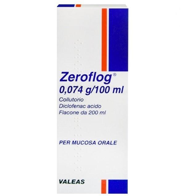 ZEROFLOG*COLLUT 1FL 200ML - Parafarmacia la Fattoria della Salute S.n.c. di Delfini Dott.ssa Giulia e Marra Dott.ssa Michela
