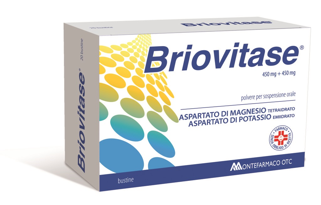 BRIOVITASE*20BUST 450MG+450MG - Spacefarma.it