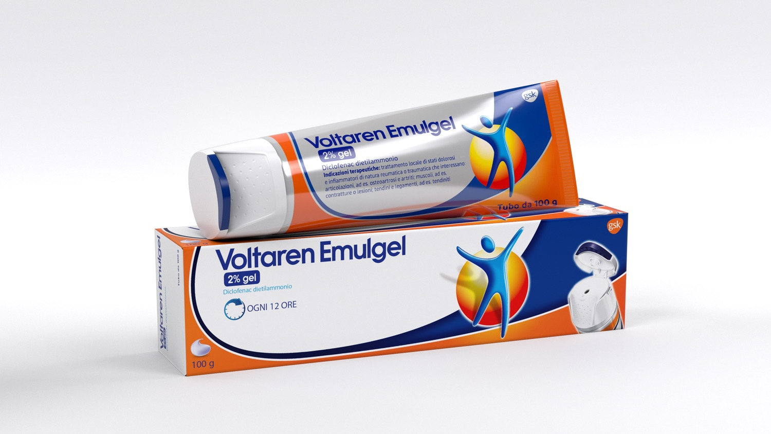 VOLTAREN EMULGEL*GEL 100G 2% - Farmaunclick.it