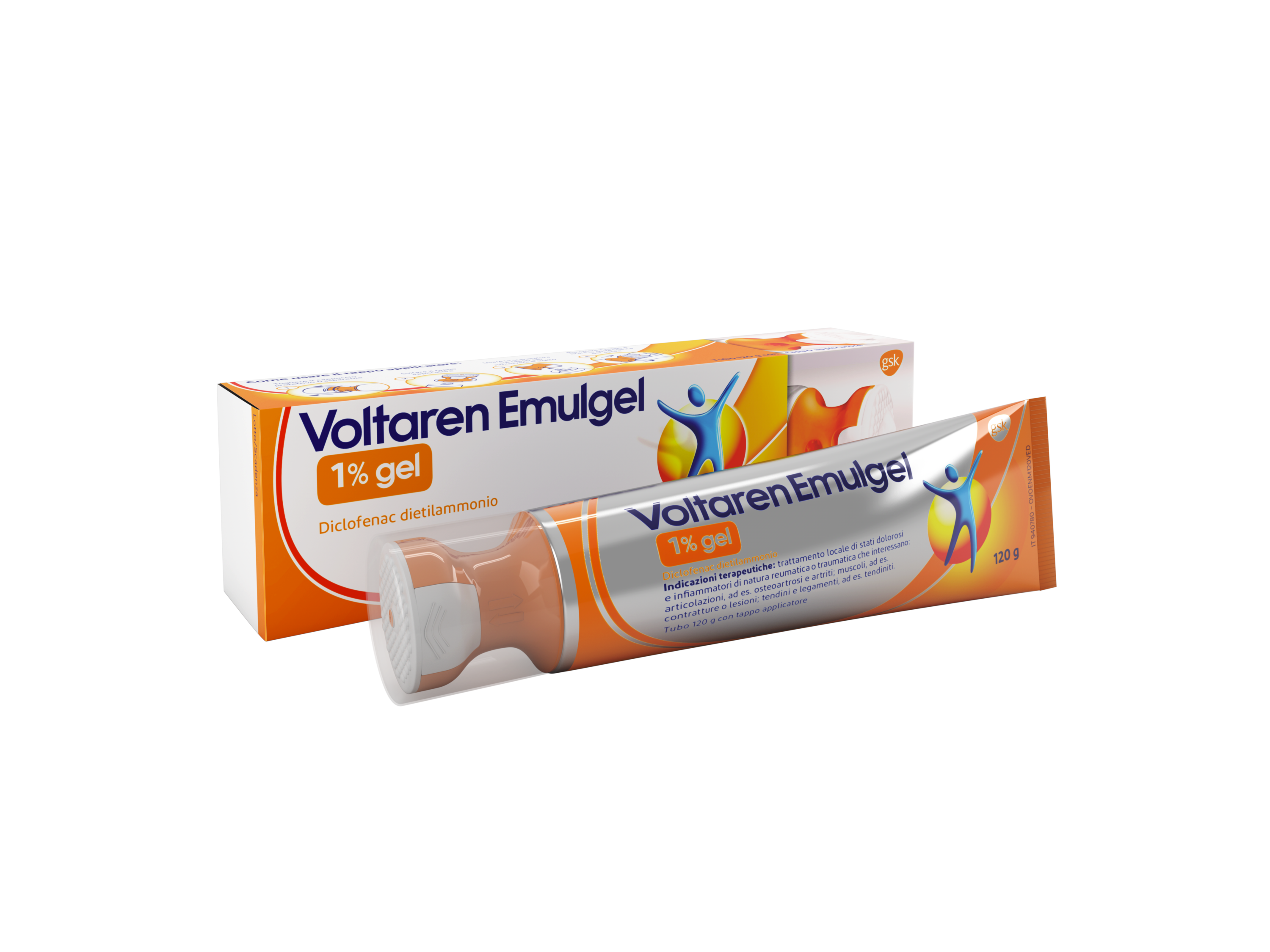 VOLTAREN EMULGEL*GEL 120G 1% - Spacefarma.it