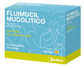 FLUIMUCIL MUCOL*OS 30BUST200MG - DrStebe