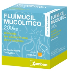 FLUIMUCIL MUCOL*30BUST200MGS/Z - Farmalke.it