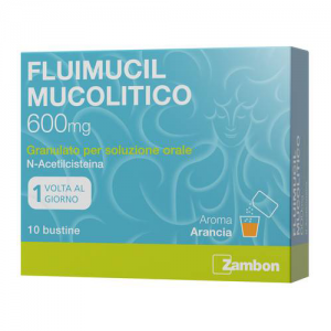 FLUIMUCIL MUCOL*OS 10BUST600MG - Farmawing