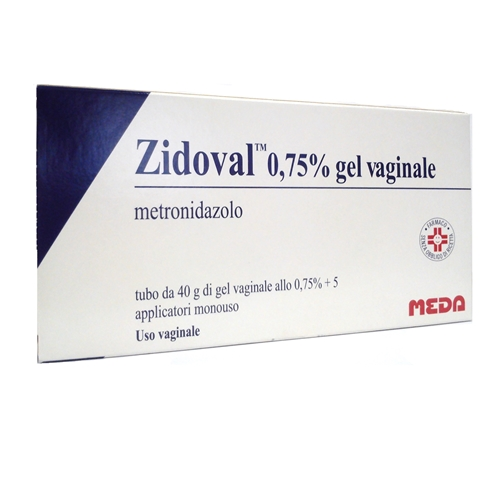 Zidoval 0,75% Gel Vaginale 40g 5 Applicatori - Zfarmacia