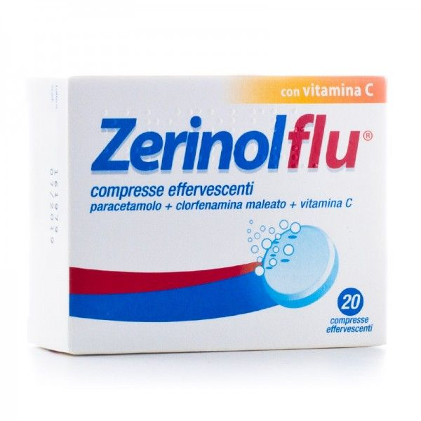 ZERINOLFLU*20CPR EFF - farmaventura.it
