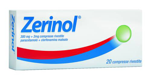 ZERINOL*20CPR RIV 300MG+2MG - farmaventura.it