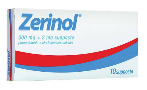 ZERINOL*10SUPP 300MG+2MG - DrStebe