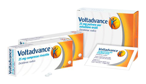 Voltadvance 20 Compresse Rivestite da 25mg - Arcafarma.it