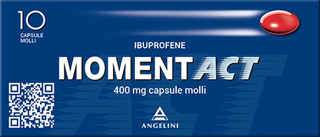 MOMENT ACT 400mg 10 capsule molli - Farmapage.it