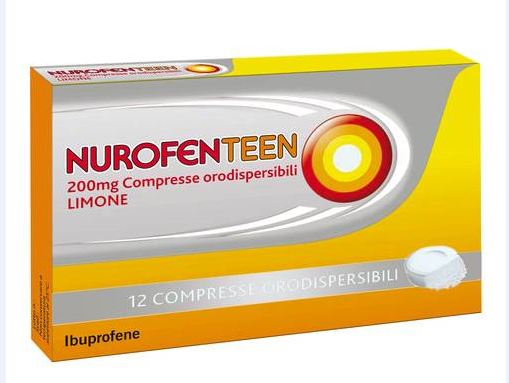 NUROFENTEEN*12CPR ORO 200MG LI - Farmawing