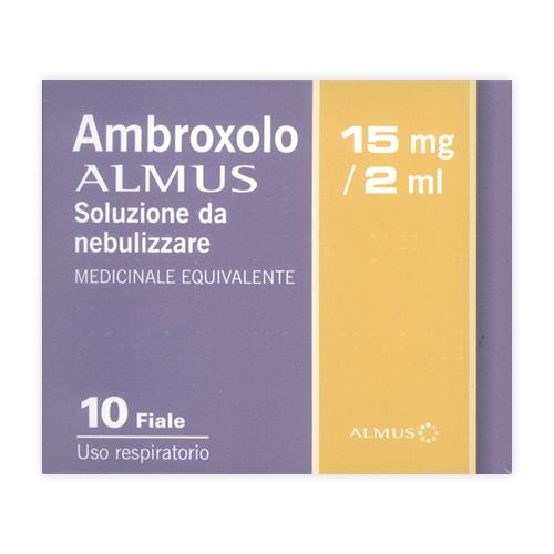 AMBROXOLO ALM*NEB 10F 15MG 2ML - SUBITOINFARMA