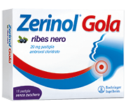 ZERINOL GOLA RIBES*18PAST 20MG - Spacefarma.it